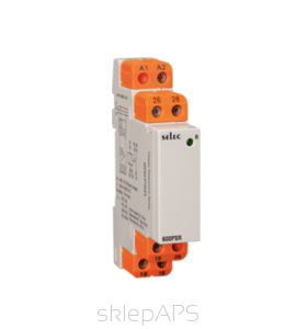 Time relay for installation on DIN rail, measurement of wired voltage in  the 3 -phase networks 3-wire- -- 600PSR-280/520-CU