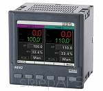 Regulator RE92, 2 wej. uniwersalne, 3 wej. binarne, 6 wyjść przekaźn., 2 wyj. analog., RS-485 Modbus, Ethernet TCP - RE92-0111000P0